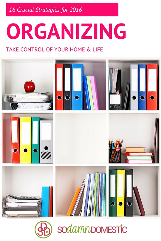 16 Crucial Tips for Organizing in 2016