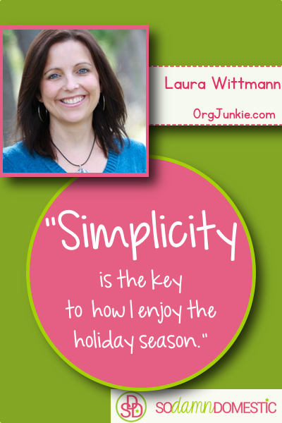 Homemaking experts speak out about how to prepare for the holidays without going crazy. Click here to read the rest!
