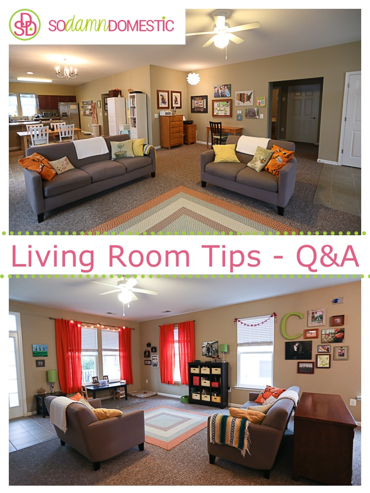Living room Q&A with tons of tips