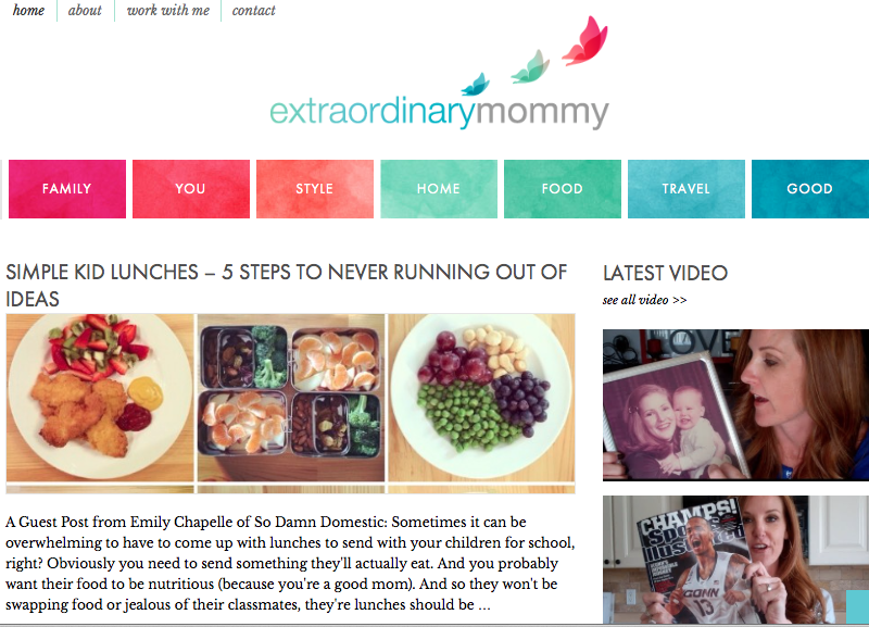 Extraordinary Mommy guest post