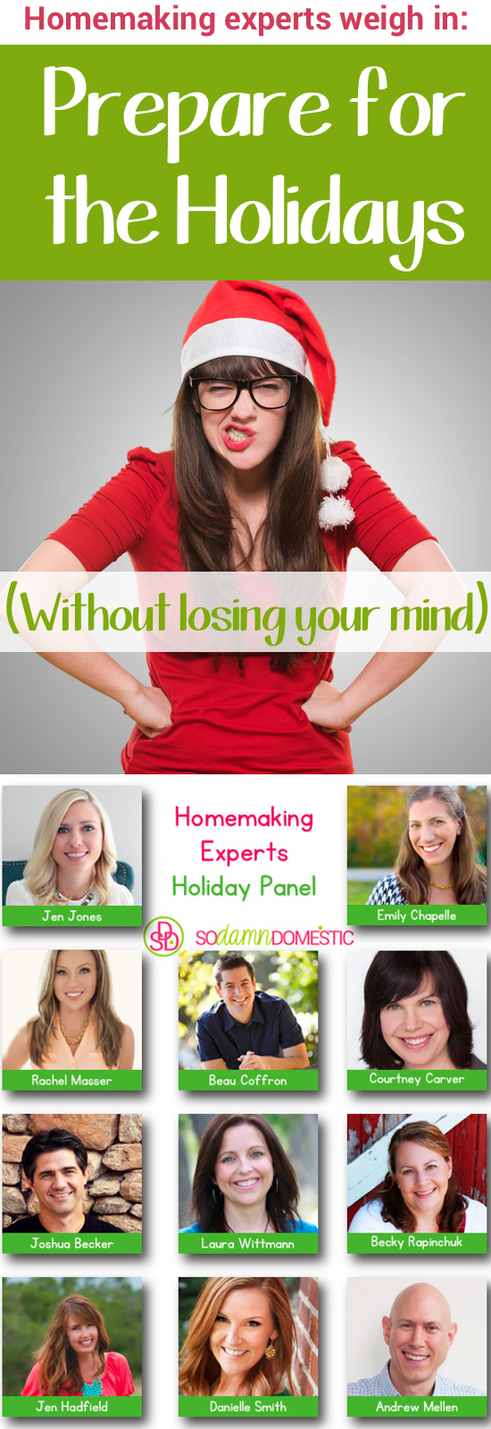 Prepare for the Holidays (Without Losing Your Mind) - Homemaking Experts Weigh In