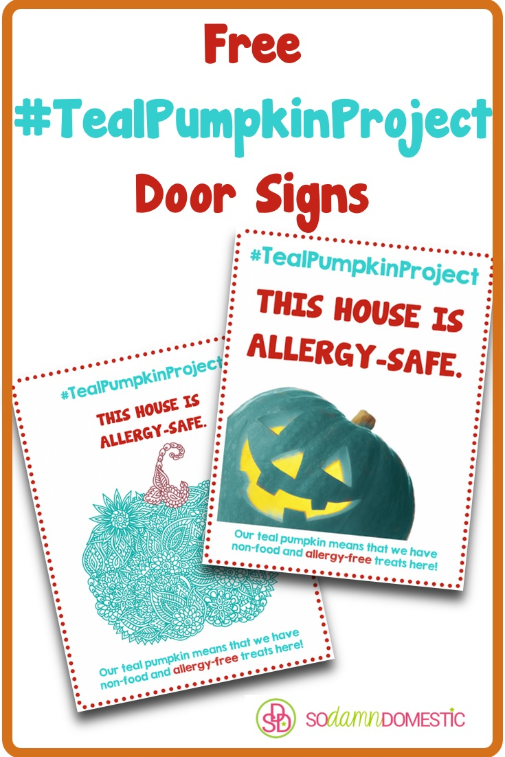 #TealPumpkinProject Free Printables for Allergy-Friendly Halloween Treats